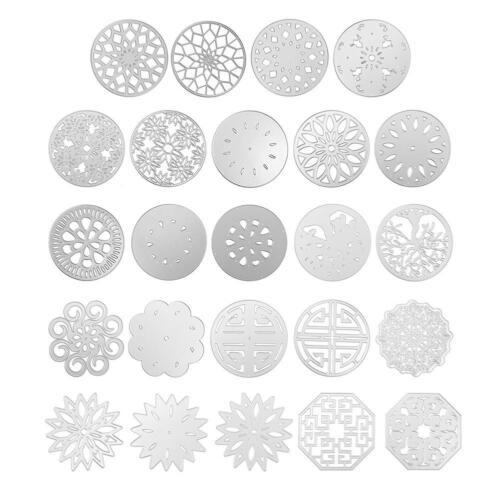 3pcsSet Metal Cutting Dies DIY Embossing Stencils Scrapbooking Photo Handmake