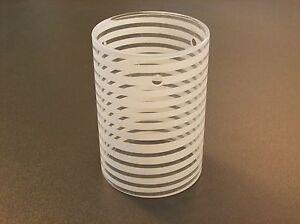 glas lampenschirm ersatzglas zylinder wei transparent. Black Bedroom Furniture Sets. Home Design Ideas