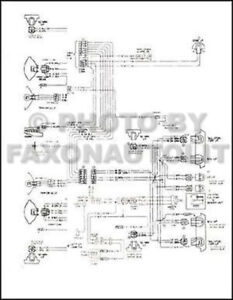 Details about 1974 Chevy GMC P30 P35 Motorhome Foldout Wiring Diagram on