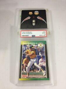1989 Mark McGwire Oakland Athletics Donruss #95 Graded 9 Mint PSA