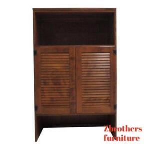 Ethan-Allen-Nutmeg-Heirloom-CRP-Dresser-Base-Top-Shelf-TV-Cabinet