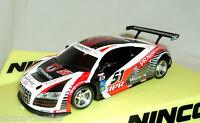 Ninco 50623 Audi R8 Gt3 Lightning Nc-12 Crusher Brand 1/32 Slot Car