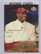 LeBRON JAMES 2003/04 Insert RC Basketball ROOKIE CARD #1 Draft Day NBA PICK!