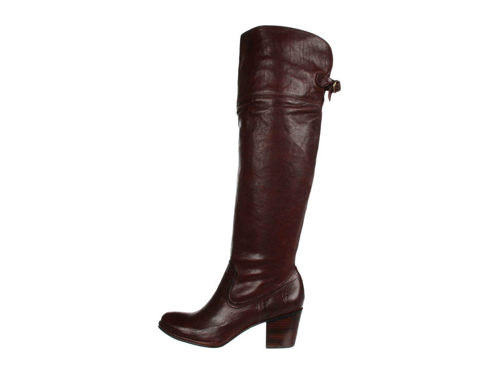 Frye Lucinda Slouch Leather Boots Dark Brown Vintage New in in in Box Retail  448 boot 9b751b