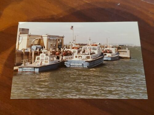 NEW YORK CITY POLICE NYPD MARINE UNIT POLICE BOATS PHOTOGRAPH 80s 90s