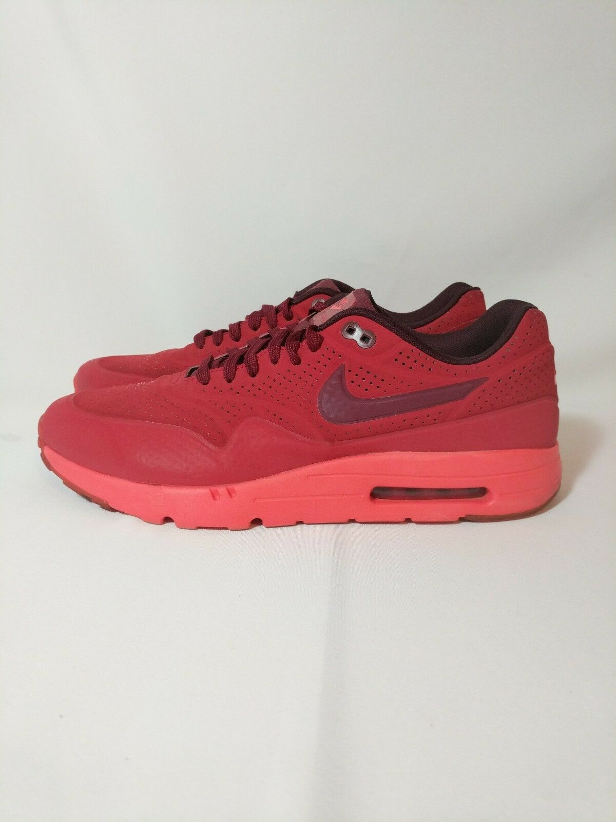 Nike Air Max 1 Ultra Moire Uomo size 13 705297-600 Gym Red/Team Red/UnvrsRed
