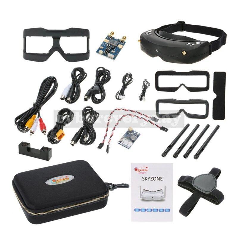 SKY02S V+5.8G solo video Glass 48CH 2  receptor de imagen HDMI FPV Goggle Aeromodel