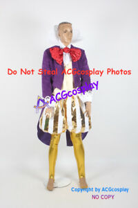 los angeles 6e0d0 86caa Details about Wreck-It Ralph King Candy Cosplay Costume