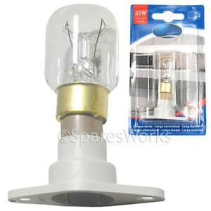 Image Is Loading 25w Lamp Light Bulb Amp T25 Holder For