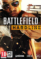 BATTLEFIELD HARDLINE PC Game ORIGINAL (NEW SEALED) (PC DVD) PHYSICAL GAME DISK