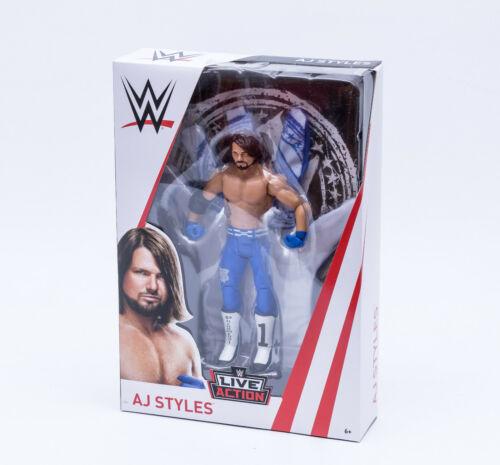 movibile wrestler AJ Styles NUOVO MATTEL fmj13 WWE Superstars Action Personaggio 19 cm