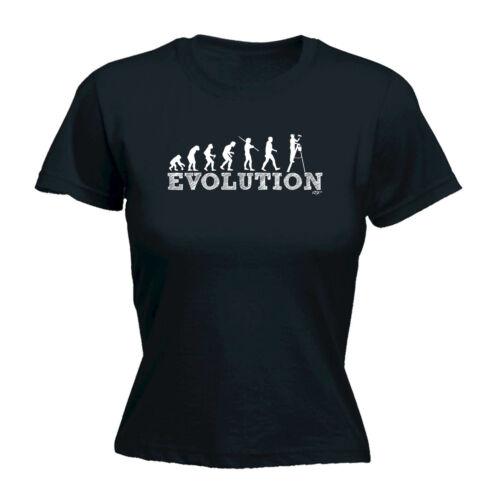 SUPER WOMENS P1 Evolution Funny Novelty Tops T-Shirt Womens tee TShirt