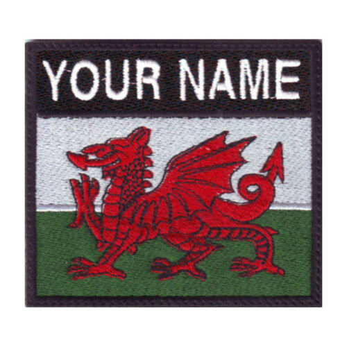 Wales Custom Badge Embroidered Patch