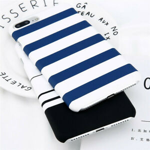 Stripe-Hard-Casing-iPhone-6-6s-6sPlus-7-8Plus-iPhone-X-IPhone-Cover-Back-Case-CA