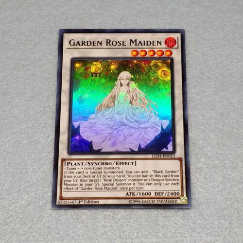 Yugioh Garden Rose Maiden LED4 Ultra 1st Ed Card NM