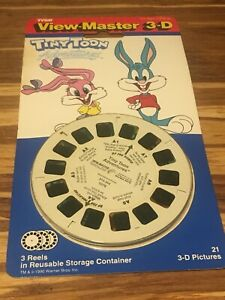 Details about NIB VIEW MASTER TINY TOONS ADVENTURES 3D REELS 1990 VINTAGE  TYCO WARNER BROS NEW