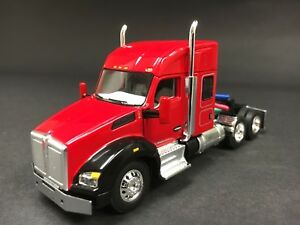 Details about 1/64 DCP RED KENWORTH T880 W/ 52