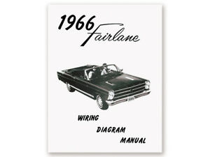 image is loading new-1966-fairlane-wiring-diagram-manual-500-xl-