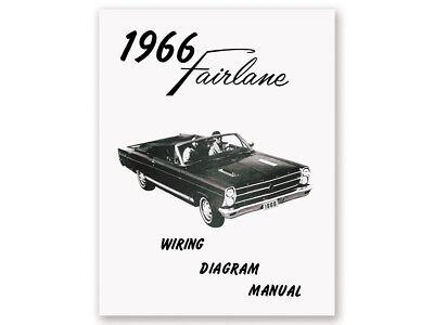 New 1966 Fairlane Wiring Diagram Manual 500 XL GT ...