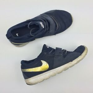 sale retailer f5e11 ad8d2 Image is loading Nike-Trainerendor-Navy-Running-Sneakers-Athletic-Shoes -616575-