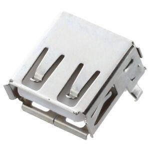 10 Stk. USB Typ-A Buchse 90 Grad Buchse Buchse fuer Reparatur Z5D7