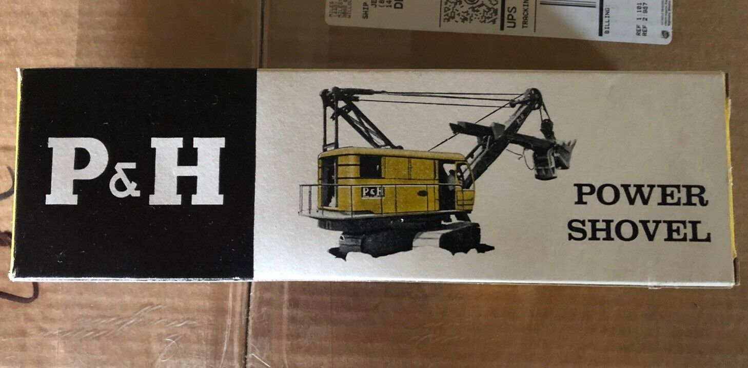 Lionel 6827100 P&H harnischfeger energia Pala SOLO SCATOLA