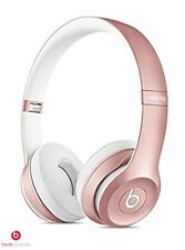 Beats By Dr Dre Solo 2 Rose Gold Wireless Headphones