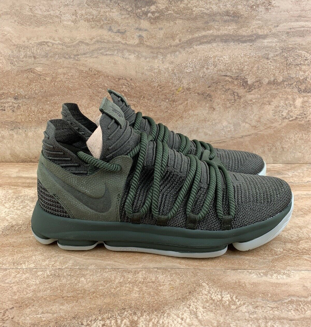 Nike Zoom KD 10 Nike Lab KDX Men's Basketball shoes Olive Green