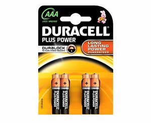Duracell-Plus-Power-Pilas-AAA-TRIPLE-A-4-Pack-1-5vV-NO-RECARGABLE