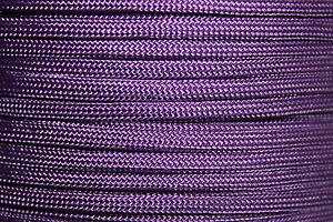 Purple 550 Paracord Mil Spec Type III 7 strand parachute cord 10-100 ft