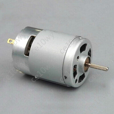 DC 3.7-7.4V 46000RPM High Speed Carbon Brush 380 Model Airplane Motor for DIY