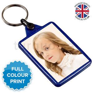 Personalised-Custom-Photo-Gift-Keyring-Key-Fob-50-x-35-mm-Blue
