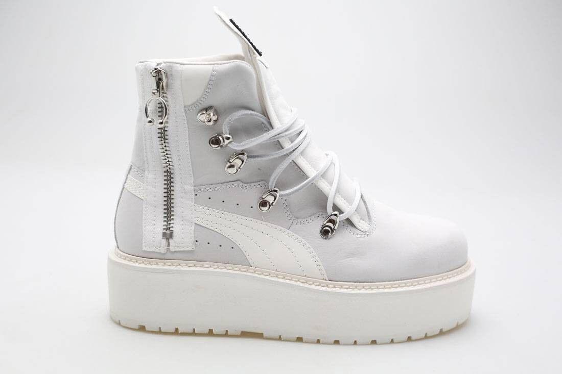$325 Fenty Puma by Rihanna femmes  SB Boot  Blanc  363475-01