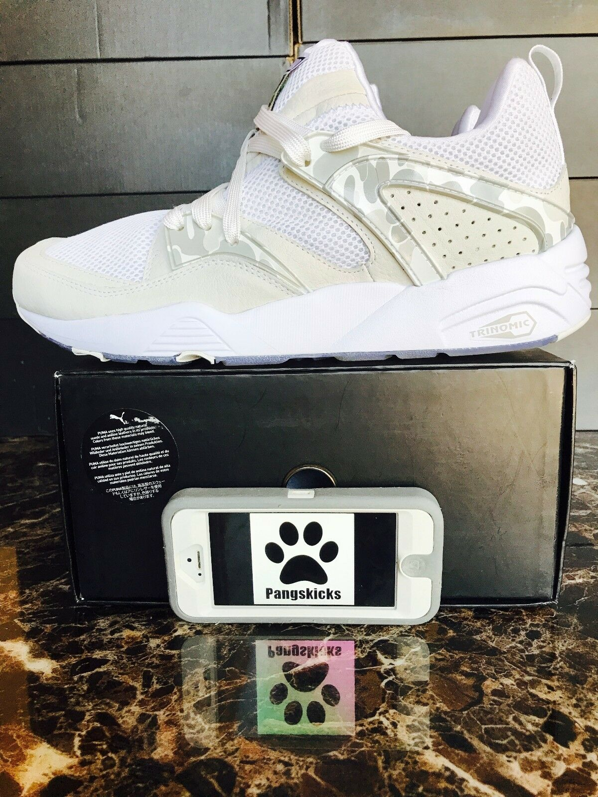 Bape x Puma Blaze of con Glory Camo Blanco 35884401 con of recibo 8a94c5