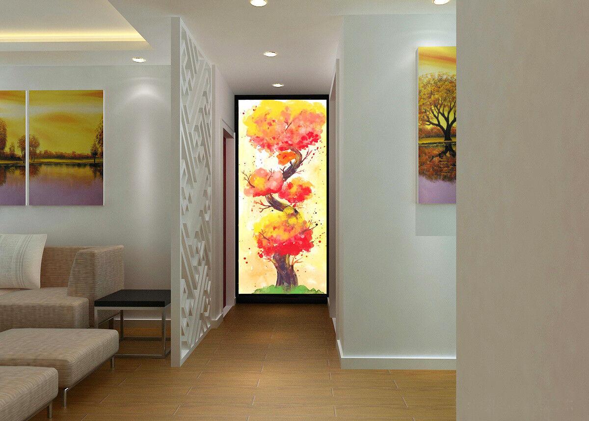 3D Tree Paint 61 Wallpaper Murals Wall Print Wallpaper Mural AJ WALLPAPER UK