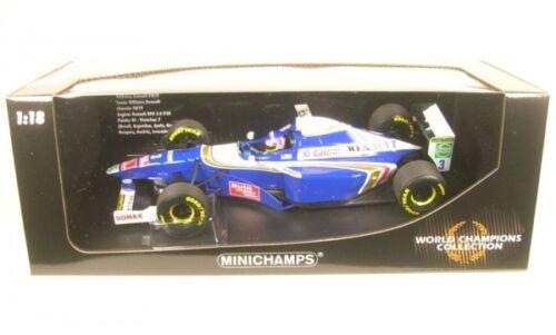Williams renault fw19 nº 3 World Champion formula 1 1997 jaques villeneuve