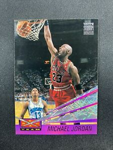 1993-94 Topps Stadium Club Beam Team Insert Michael Jordan #4 Chicago Bulls HOF