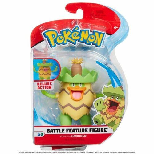 "Pokemon ~ Battle Caractéristique Figurine Pack ~ Ludicolo ~ 4.5/"" figurine personnage"