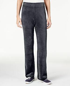 Karen Scott Petite Velour Pull-on Pants Size PL NWT $46 Fashi1 4l7423