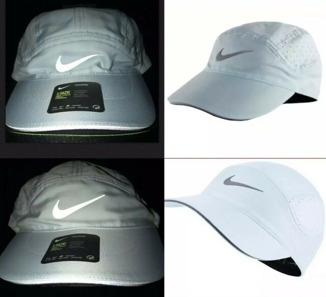 5f8d1625f7b6c Nike AeroBill Elite Tailwind Reflective Women s Adjustable Running Hat One  Size