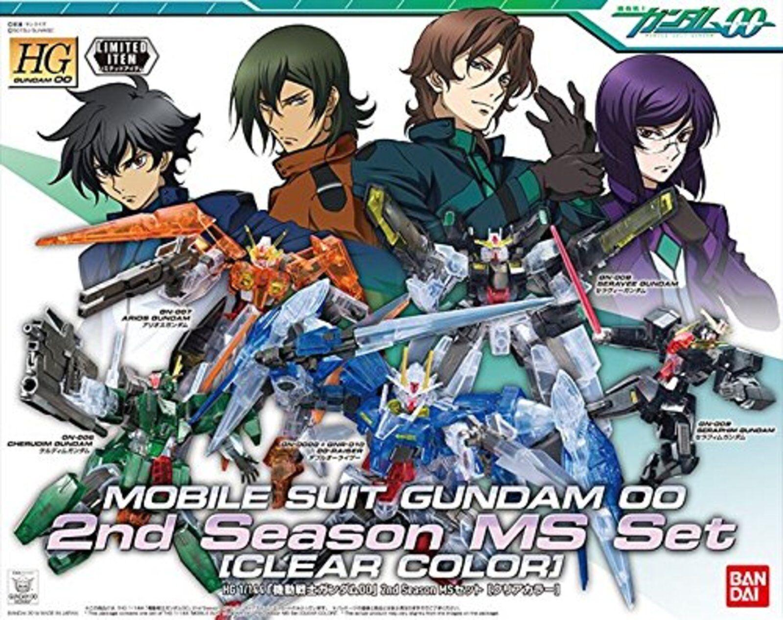 Gundam Basis Tokyo Limitiert Gundam00 00 2. Staffel Klar Farbe Modell Bausatz