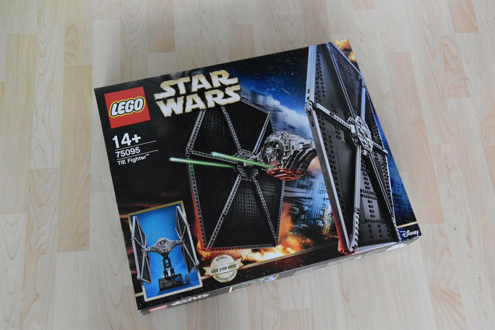 LEGO 75095 STAR WARS TIE FIGHTER Ultimate Collection Series-RARE-RARO