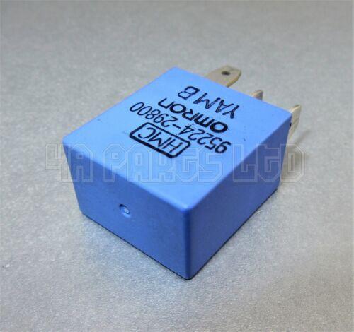 12 V 4-Pin KIA /& Hyundai Multi-uso Azul Relé Omron 95224-29800 HMC
