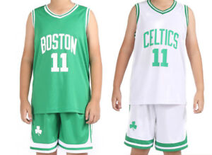 a55516ccec8 KIDS BOYS YOUTH KYRIE IRVING  11 BASKETBALL JERSEY W  SHORT SET 3XS ...
