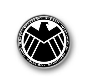 SHIELD-1-25mm-pin-button-badge-Marvel-Thor-Iron-Man-The-Avengers