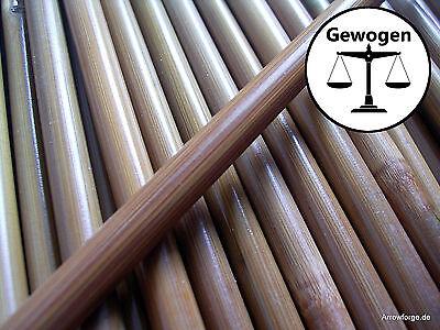 6 Bambusschäfte gewogen 84cm Pfeilschäfte aus Bambus Bambuspfeilschäfte gespined
