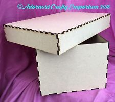 10 X Mdf Box Wood Wooden Keepsake Box 30 X 30 X 20cm memory baby wedding