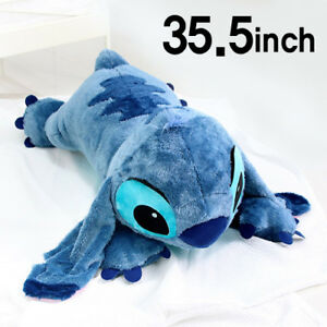 Bnwt Soft 35 5inch Large Stitch Plush Toy Cushion Bed Body Pillow