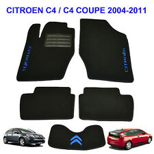 Citroen C4 2004-2010 5d Coupe Fully Tailored Carpeted Car Floor Mats Custom Fit