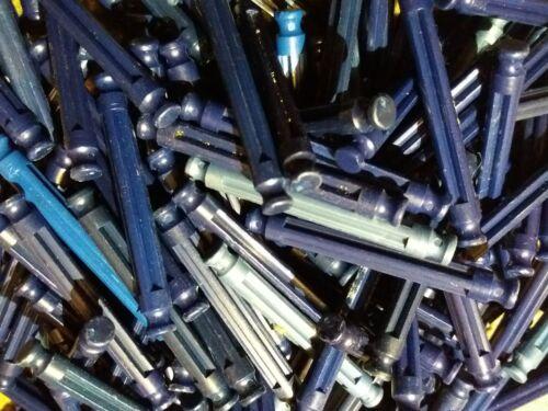 Kinex 50 Blue Rods Good Used Condition. K*nex 5.5cm
